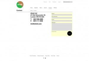 Contact - AFOBI